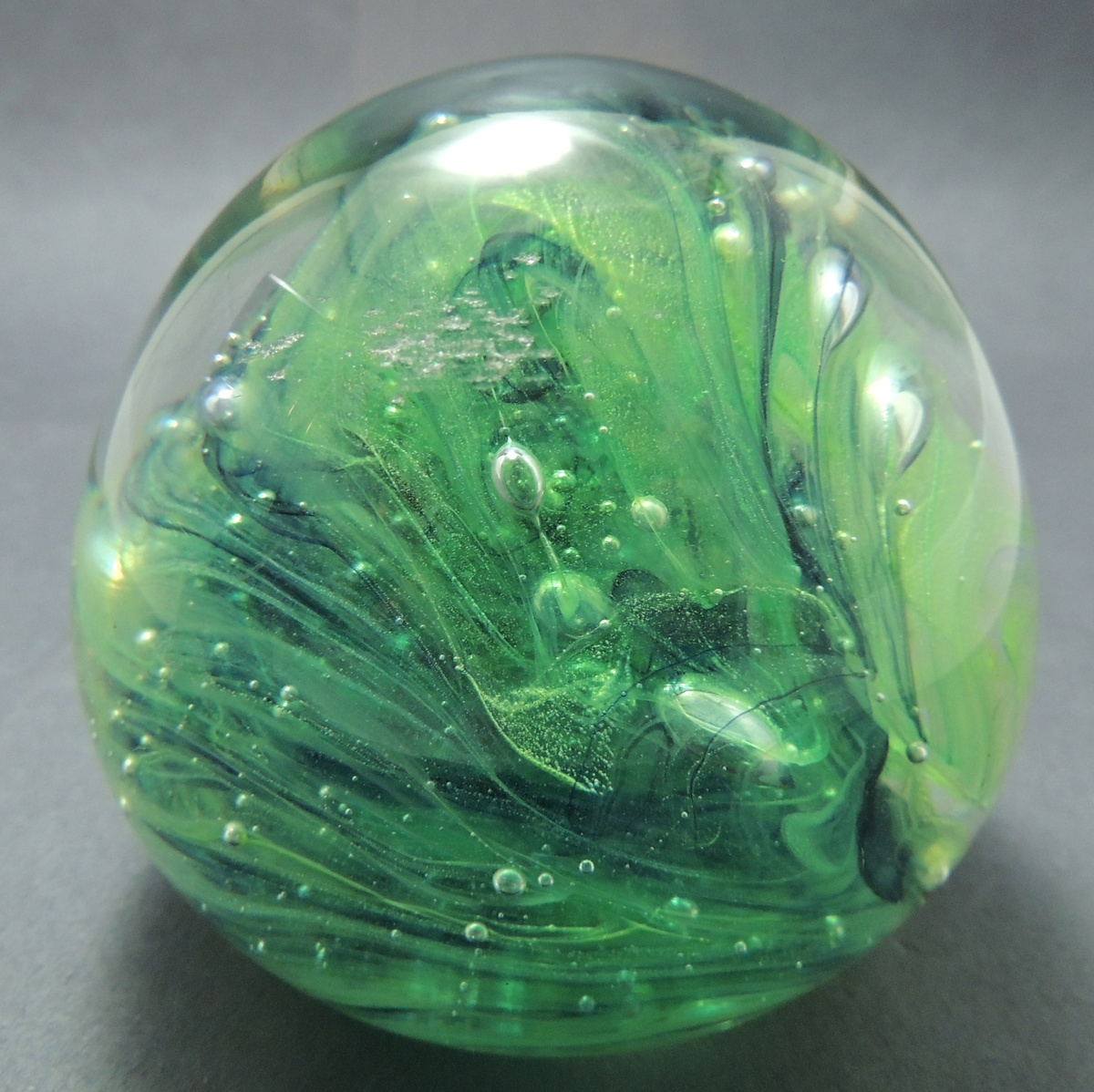 What Color Is Buff >> Hand Made Glass Paperweight: Kerry Glass Ireland | Collectors Weekly
