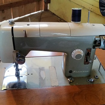 1950's Kenmore 158.521 Domestic Sewing Machine with pattern cams