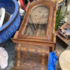 English Inlay Wall clock case with ansonia Movement