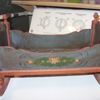 OLD DOLL CRADLE - Folk Art