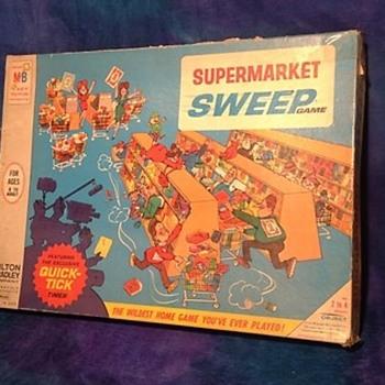 """Supermarket Sweep"" Board Game by Milton Bradley - Games"