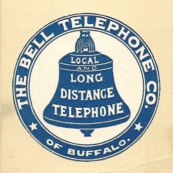 The Bell Telephone Company of Buffalo - Telephones