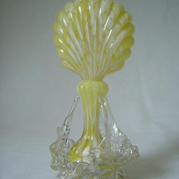 Welz Ribbed Vase - Art Glass