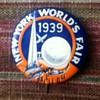 1939 World's Fair Button