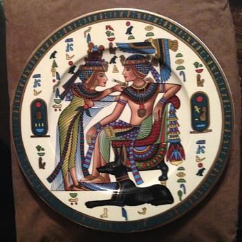 Egyptian Plate - China and Dinnerware