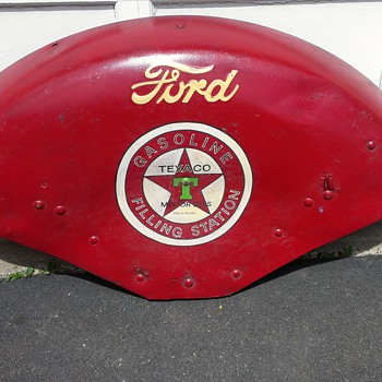 Ford Tractor Advertising Fender