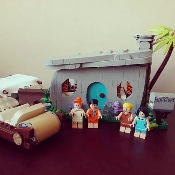 Lego Flintstones Set - Toys