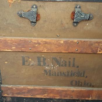 E.B. Nail Mansfield Ohio. - Furniture