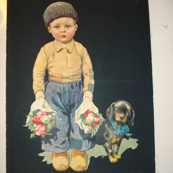 LITTLE BOY FROM HOLLAND? - Posters and Prints