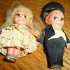 kewpie wedding topper 1920's