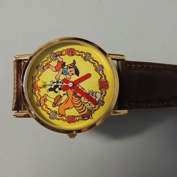 PINOCCHIO EMPLOYEE WATCH