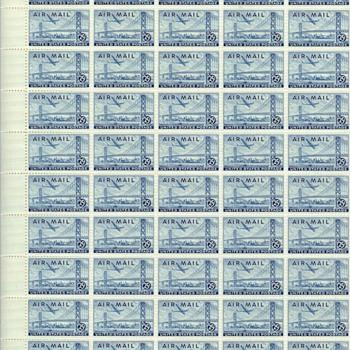 Sheet of Bay Bridge Stamps - Stamps