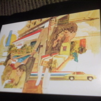 Vintage Howard Johnson's PostCard