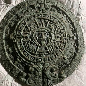 Authentic calendar Aztec or What? - Advertising