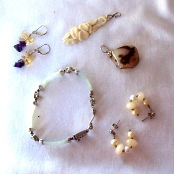 This and That from my old Jewelry collection - Costume Jewelry