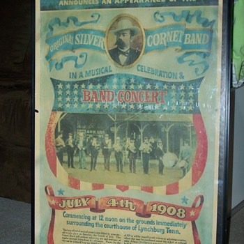 1908 4th of July Jack Newton Daniel's (24 w X 36 H) - Advertising