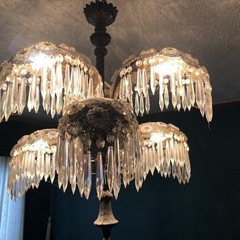 Aurora Borealis chandelier   - Lamps