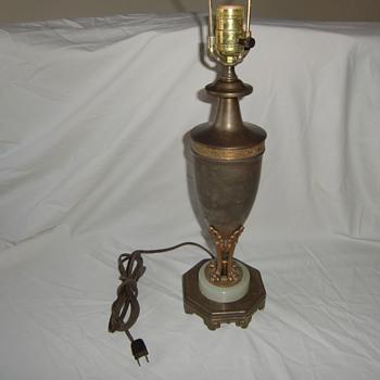My bronze Lamp