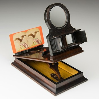 American Stereographoscope, mid-1870s - Cameras