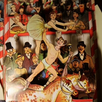 Reproduction Circus Pop-up Book