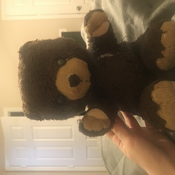 Chocolate Brown Teddy Bear - Dolls