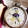 Ingersoll Donald Duck Pocket Watch Circa 1939