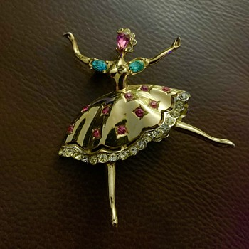 Corocraft ballerina - Costume Jewelry