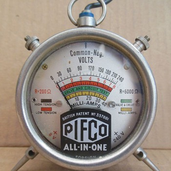 Pifco All-In-One Radiometer - 1932 approx.