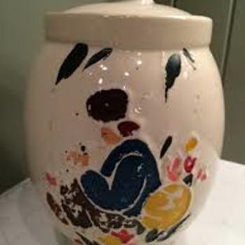 """McCoy Dutch Boy (""""Dutchman"""") Cookie Jar"""