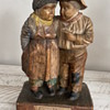 Wooden German man and lady