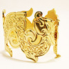 Vintage Napier Dragon Sea Serpent Hinged Bracelet