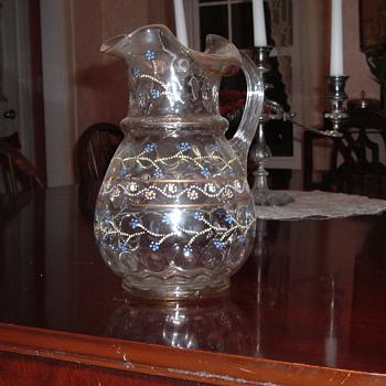 Crystal Pitcher - Help Identify - Glassware