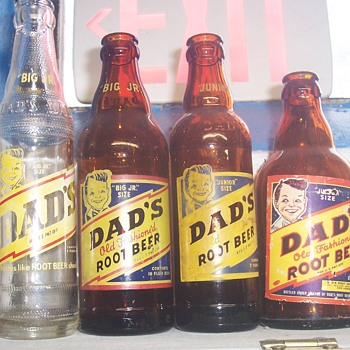 Dads Root Beer bottles! - Bottles