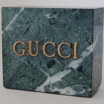 Gucci Advertising Item - Advertising