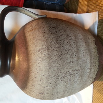 Mid Century Modern West Germany Fat Lava Pottery  - Pottery