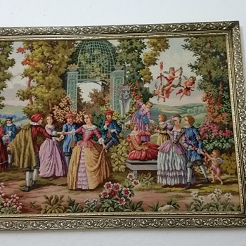 Do you know anything about this tapestry? - Fine Art