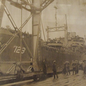 Unidentified Military Ship? - Photographs