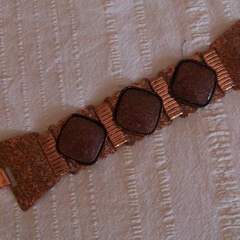 nice copper bracelet - Costume Jewelry