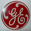 General Electric Masonite Round Sign