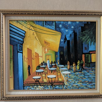 Original oil painting.  Help with identifying the artist signature - Fine Art