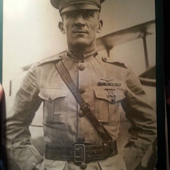 1923 U.S. Marine Pilot original photo! - Military and Wartime