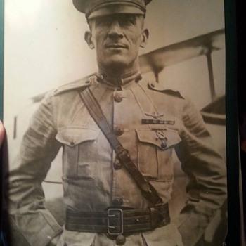 1923 U.S. Marine Pilot original photo! - Military and Wartime