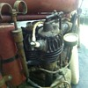 Antique Harley Davidson engine