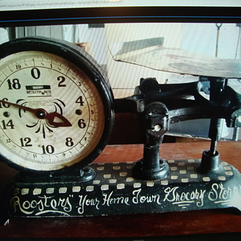 """ANTIQUE """"JACOBS DETECTO WATE"""" STORE SCALE.............. - Tools and Hardware"""
