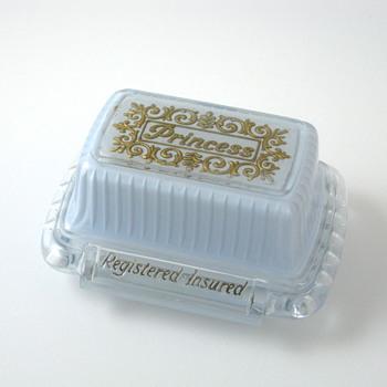 light blue princess ring box