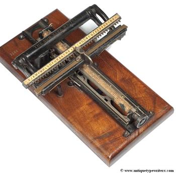 Sun 1 typewriter - 1884 - Office