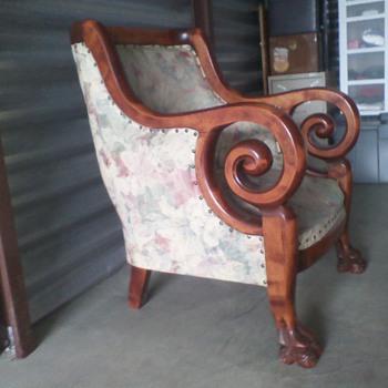 Big Overstuffed Chair - Furniture
