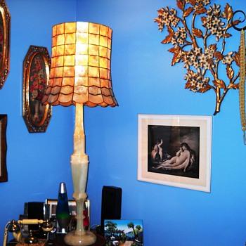 Onyx & Capize lamp - Lamps