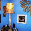 Onyx & Capize lamp
