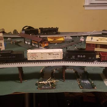 american flyer s guage train set - Model Trains